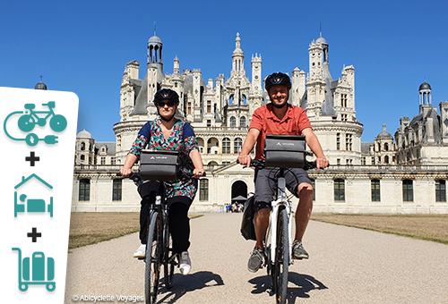 En famille, le pays des châteaux et Blois à vélo électrique (avec 1 nuit à Blois) - 1