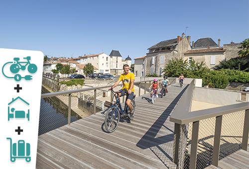 En famille, la Vendée et le Marais Poitevin à vélo électrique