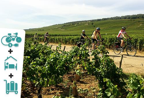 Le sud de la Bourgogne à vélo électrique