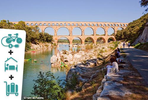 Découvrez Nîmes, le Pont du Gard et ses secrets à vélo électrique - 1